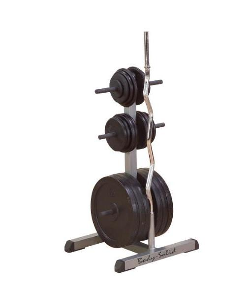 Body-Solid-Olympic-Plate-Tree-&-Bar-Holder-GOWT
