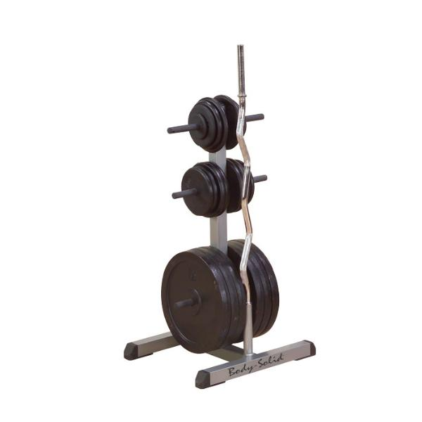 Body-Solid-Olympic-Plate-Tree-u0026-Bar-Holder-  sc 1 st  Huntsville Fitness Equipment : weight racks for plates - pezcame.com